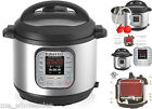 Instant Pot Rice Pressure Cookers 6Qt Stainless Steel 7 In 1 Programmable 1000W