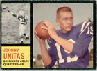 1962 Topps Football Cards 7