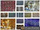 Polar Fleece Printed Fabric LEOPARD 60 Wide Sold By the Yard