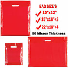 Plastic Carrier Bags Strong Shopping Supermarket Shop Retail Shop Bagall Sizes