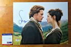 Outlander signed x2 auto autograph 11x14 Photo Sam Heughan Balfe PROOF PSA DNA