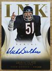2014 PANINI IMMACULATE DICK BUTKUS AUTO AUTOGRAPH ON CARD INK 49 BEARS HOF
