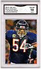 Brian Urlacher 1 of 49 Art Card Gem MT 10 Artist Autograph Chicago Bears