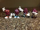 Vintage California Raisins Set Of 4 PVC Figures Calrab 1987