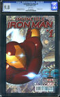 INVINCIBLE IRON MAN #1 - CGC 9.8 - SOLD OUT - FIRST PRINT - RELAUNCH