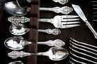 Barton KING FRANCIS 45 pc Silverplate Flatware Set ***WOW*** EXCELLENT!!!