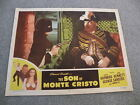 The Son of Monte Cristo Movie #47/1367 2 Starring Louis Hayward lobby card