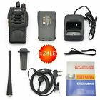 BaoFeng Two Way Radio Walkie Talkie Police Handheld UHF FM Transceiver Emergency