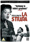 The Road La Strada NEW PAL Classic DVD Federico Fellini Anthony Quinn Italy