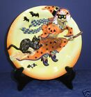 Fitz and Floyd Witch Hazel Canape Plate - New in Box- 2063/300