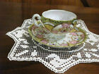 ANTIQUE VINTAGE NIPPON ? HAND PAINTED COFFEE  CUP AND SAUCER
