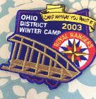 2003 OHIO District Royal Rangers Winter Camp Patch