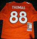 DEMARYIUS THOMAS Denver Broncos Autographed Signed Jersey w JSA COA