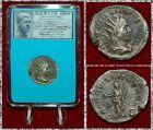 ANCIENT COIN Philip I The Arab Tranquillitas On Reverse Silver Antoninianus