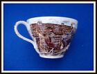 JOHNSON BROS Olde English Countryside Brown Cup ~ Made in England