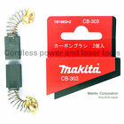 Makita 2107F Bandsaw CB303 Carbon Brushes Original Part 191963-2