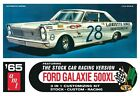 AMT '65 Ford Galaxie Stock Car Fred Lorenzen 1/25 plastic model car kit new 723
