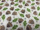 1 Yard Woodland Critters Acorns From Adorn It
