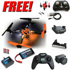 Traxxas LaTrax Alias Quad w/ Camera / Lens / Lightbar + Free Faze Quad : Orange