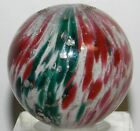 4234m Large 1.26 Inches Vintage German 4 Panel Onionskin Mica Marble Mint Minus