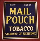 Vintage Mail Pouch Tobacco Tin sign