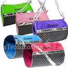 Girls Kids Dance Ballet Swim Duffle Bag Sequined Silver Metallic Sequin Colors