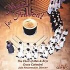 FREE US SH (int'l sh=$0-$3) NEW CD Grace Cathedral Choir, Fensterma: Music for A