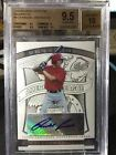 2009 Bowman Sterling [ Randal Grichuk ] Prospects RC Auto BGS 9.5 10 #BSP-RGR