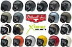 Biltwell Bonanza Helmet 3 4 Open Face Motorcycle DOT Fury Tracker Racer XS 2XL