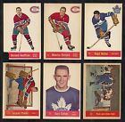 1957-58 Parkhurst:#23 Gary Collins,Maple Leafs RC