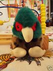 Vintage Swibco Speckled Puffkins PHEASANT Stuffed Plush Animal Toy - 1994