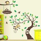 Monkey Forest Removable Vinyl Wall Decal Art Stickers Home Decor Kids Room