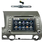 In Dash Multimedia Touch Sreen Bluetooth Radio DVD CD GPS Player for Honda Civic