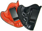 PREMIUM LEATHER REVOLVER HOLSTER FOR IWB INSIDE THE PANTS CONCEALMENT CARRY
