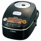 Zojirushi IH Rice Food Cooker Cooked Steamer  5.5Cup NP-BU10-BA Japan EMS