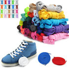Flat Coloured Athletic Sneaker Shoe Laces strings Shoelaces Bootlaces 6 LENGTHS