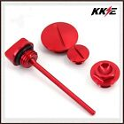 Engine Plugs Oil Dipstick For HONDA CRF 250R 04-09 CRF 250X 450X 04-15 Red