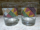 Studio Nova Palm Desert  set of 2 OLD FASHIONED DRINK GLASSES