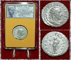 ANCIENT COIN Philip I Arab Liberalita Silver Antoninianus Museum Quality Coin