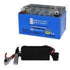 Mighty Max YTX7A BS GEL Battery for Star 50cc Moped Scooter + 12V 1AMP CHARGER