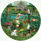 Cats at Play a 500-Piece Jigsaw Puzzle by Sunsout Inc.