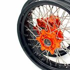 KTM 620 625 640 660 LC4 SMC CUSH DRIVE SUPERMOTO MOTARD WHEEL SETS 17