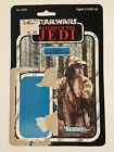 Star Wars Return of the Jedi Logray Ewok Medicine Man Vintage Card Back 1983