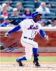 CURTIS GRANDERSON NEW YORK METS ACTION SIGNED 8x10