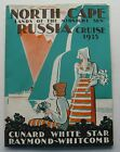 Cunard White Star Raymond- Whitcomb North Cape - Russia Cruise 1935 Deck Plans