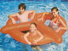 INFLATABLE GIANT PRETZEL Swimming Pool RAFT TUBE Swimline 90640 NEW