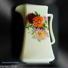 New Hall large pitcher - Staffordshire England - floral FREE SHIPPING