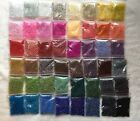Wholesale Bulk GIANT Lot 960g 11 0 Glass Seed Beads Free Ship 48 AWESOME COLORS