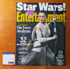 Daisy Ridley signed autograph 11x14 Photo Star Wars Rey Force Awakens PSA DNA