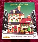 NEW NIB Heartland Valley Village Deluxe Porcelain Lighted House Limited Edition